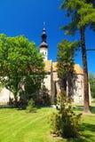 Часовня Oslavany, южная Моравия, чехия Стоковое Фото