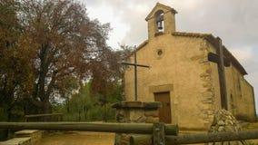 Часовня Sant Nicolau Стоковые Изображения RF