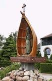 Часовня St Барбары 1899 в Kuznica Польша Стоковое фото RF