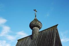 Часовня St Nicholas в Vershinino Парк Kenozero Стоковое Изображение