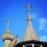 Часовня St Nicholas в Vershinino Парк Kenozero Стоковое Фото