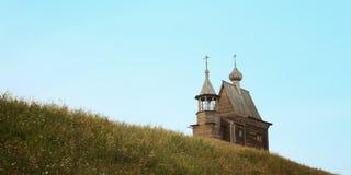 Часовня St Nicholas в Vershinino Kenozero Стоковое фото RF