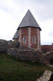 Часовня St Philip, замка Medvedgrad в природном парке Medvednica в Загребе Стоковое Изображение