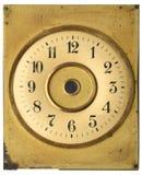часовой циферблат старый Стоковое Изображение