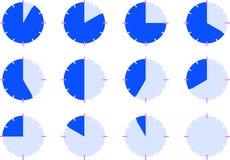 часовые циферблаты Стоковые Изображения RF