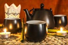 часов жизни время чая все еще Стоковые Изображения RF