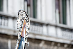 Частица гондолы в Венеции стоковое изображение