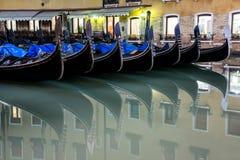 Частица гондолы в Венеции стоковая фотография