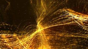 Частицы космоса кибер цифров Стоковые Изображения