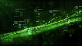 Частицы космоса кибер цифров Стоковая Фотография RF