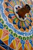 Частично колесо мозаики фото Стоковые Изображения