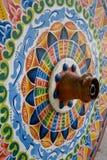 Частично колесо тележки мозаики Стоковые Фотографии RF