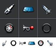части автомобиля Стоковое Изображение RF