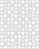 Части белой головоломки стоковые фотографии rf