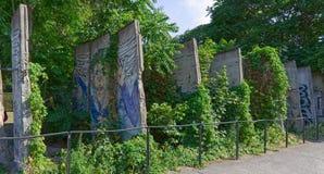 Части Берлинской стены стоковые изображения rf