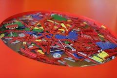 Части винтажного комплекта конструкции Стоковая Фотография