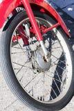 Части винтажного мотоцикла механически Стоковое Изображение