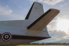 Части воздушных судн Стоковая Фотография