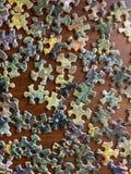 Части головоломки стоковое фото rf