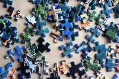 Части головоломки Стоковое Изображение