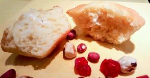 Части грецких орехов стоковое фото