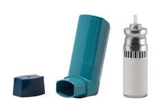 части ингалятора астмы Стоковое Изображение RF