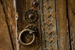 Части и элементы старой двери стоковое фото rf
