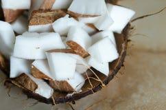 Части кокоса Стоковая Фотография RF