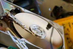части компьютера старые Стоковая Фотография RF