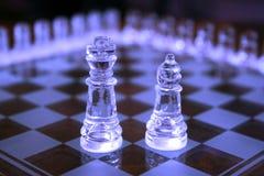 части короля шахмат епископа Стоковые Изображения