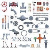 Части машинного оборудования бесплатная иллюстрация