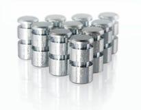 части металла малые стоковое изображение rf
