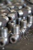 части металла пука Стоковое Изображение RF