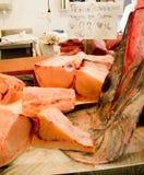 Части меч-рыб в рынке Стоковая Фотография RF