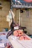 Части меч-рыб в рынке Стоковое Изображение RF