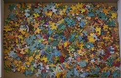 Части много и головоломки Стоковое Фото
