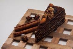 Части пирожного Стоковые Фотографии RF