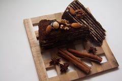 Части пирожного Стоковая Фотография RF