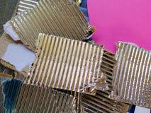 Части покрашенной бумаги Стоковое Изображение RF