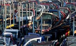 Части подержанного автомобиля запасные Стоковые Фотографии RF