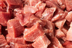 Части свежего свинины Стоковое Изображение RF