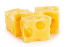 3 части сыра Стоковое Фото