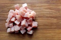 Части сырцового свежего мяса для варить Стоковое Изображение