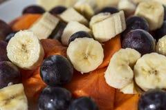 Части тропических плодоовощей Стоковое фото RF