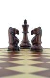 части шахмат Стоковые Фотографии RF