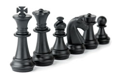 Части шахмат Стоковая Фотография