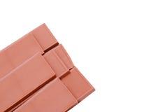 части шоколада Стоковая Фотография RF