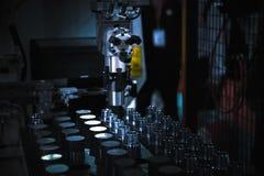 Части CNC поворачивая стоковая фотография rf