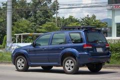 Частная машина, избежание Форда, автомобиль Suv для городского потребителя стоковое изображение