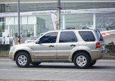 Частная машина, избежание Форда, автомобиль Suv для городского потребителя стоковые фото